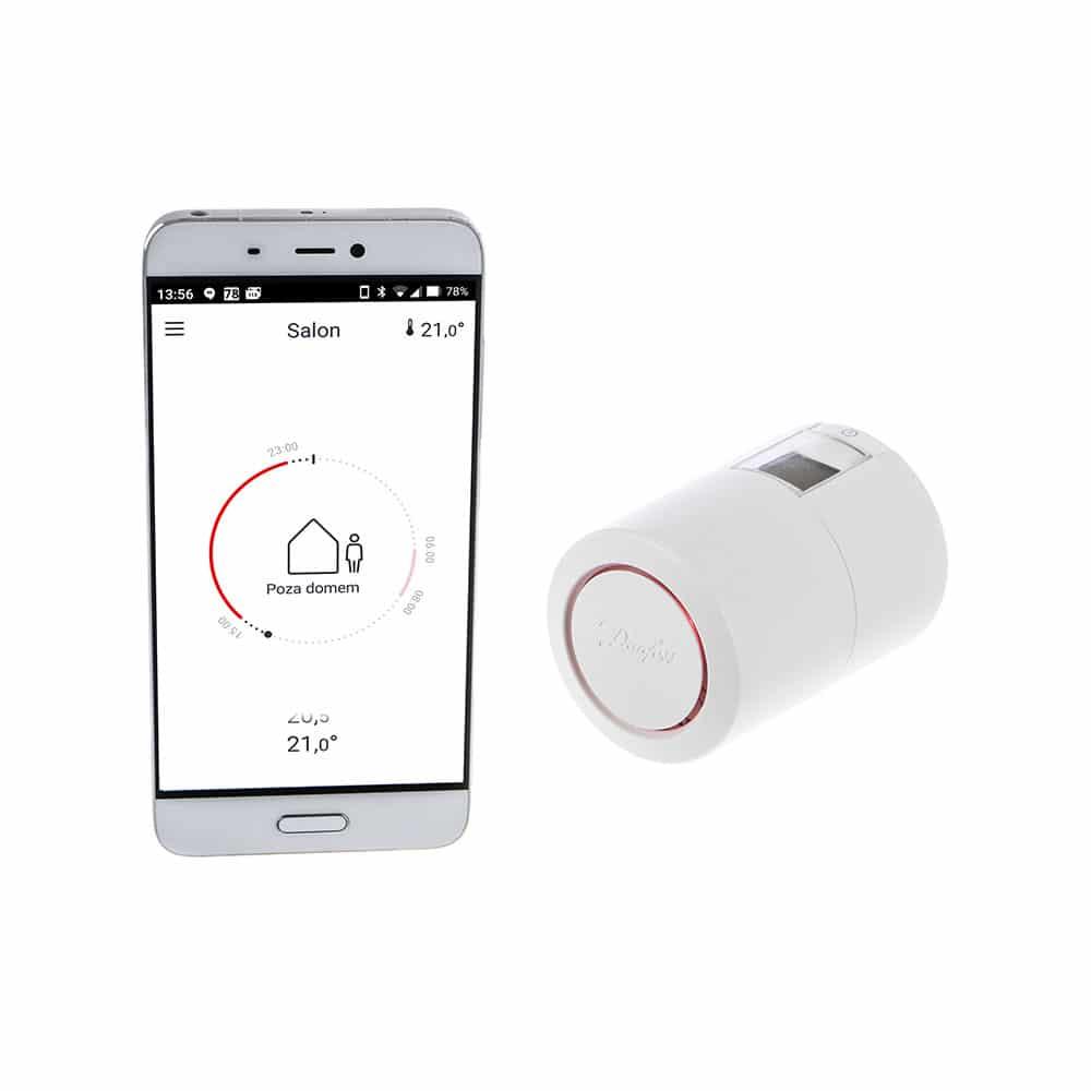 Nowe głowice termostatyczne Danfoss Bluetooth